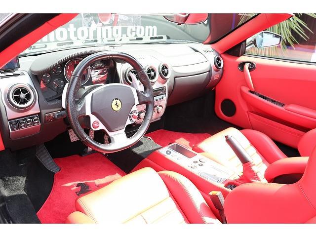 フェラーリ フェラーリ F430スパイダー F1 正規ディーラー車  カーボンブレーキ カーボンシート