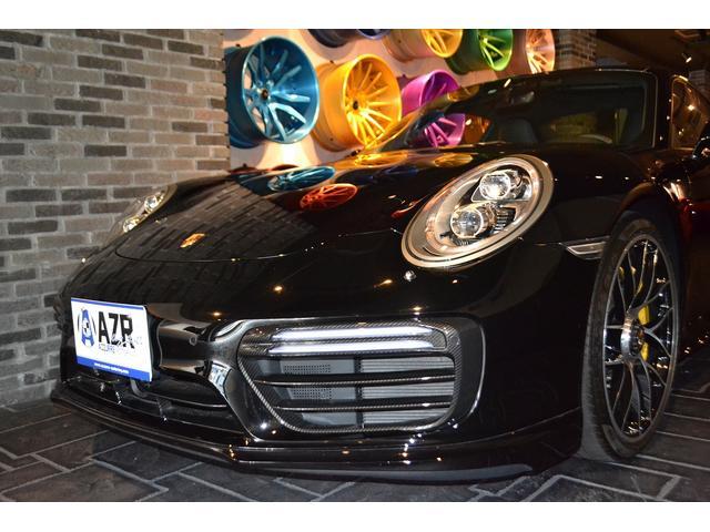 911ターボS スポーツクロノPKG 純正20インチAW(8枚目)