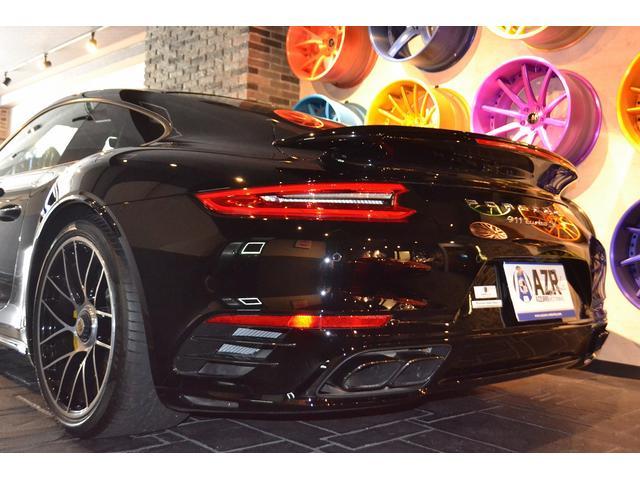 911ターボS スポーツクロノPKG 純正20インチAW(9枚目)