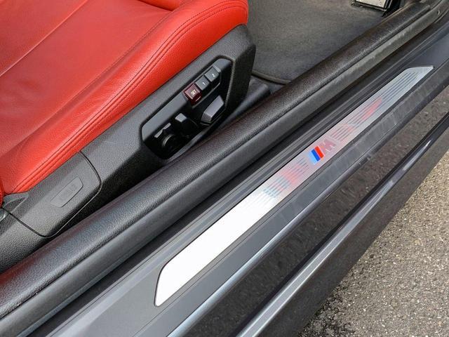 435iクーペ Mスポーツ オプションLEDヘッド フォグ 赤革シートH ACC追従クルコン インテリセーフ RDW カーボンリップ 黒ドアミラー Mパフォ黒グリル Rスポ OP19AW(4本新品タイヤ) スマートキー 禁煙(27枚目)