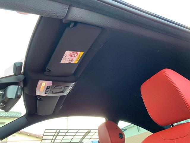 435iクーペ Mスポーツ オプションLEDヘッド フォグ 赤革シートH ACC追従クルコン インテリセーフ RDW カーボンリップ 黒ドアミラー Mパフォ黒グリル Rスポ OP19AW(4本新品タイヤ) スマートキー 禁煙(37枚目)