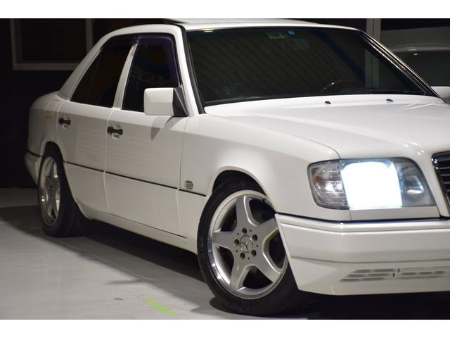 E320 左H 黒革 SR AMG17アルミ ユーザー買取車(3枚目)