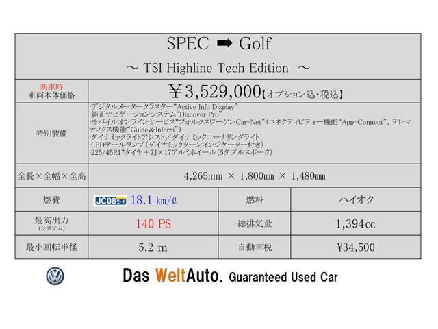 TSI Highline Tech Edition Navi ACC LED(2枚目)