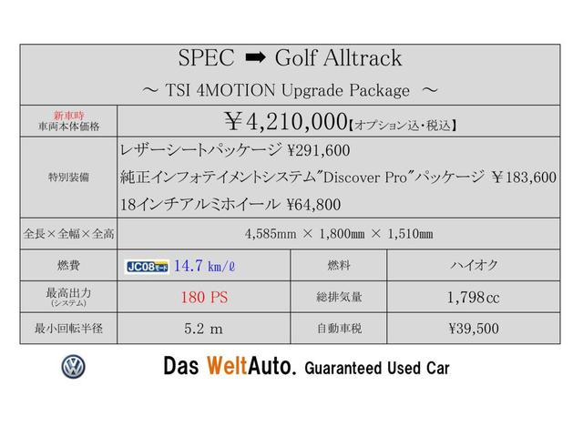 TSI 4MOTION Upgrade Package DCC Leather(2枚目)