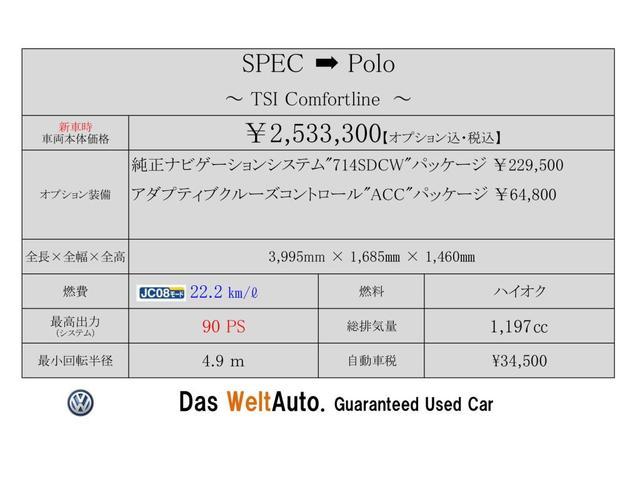 TSI Comfortline ACC Navi ETC(2枚目)