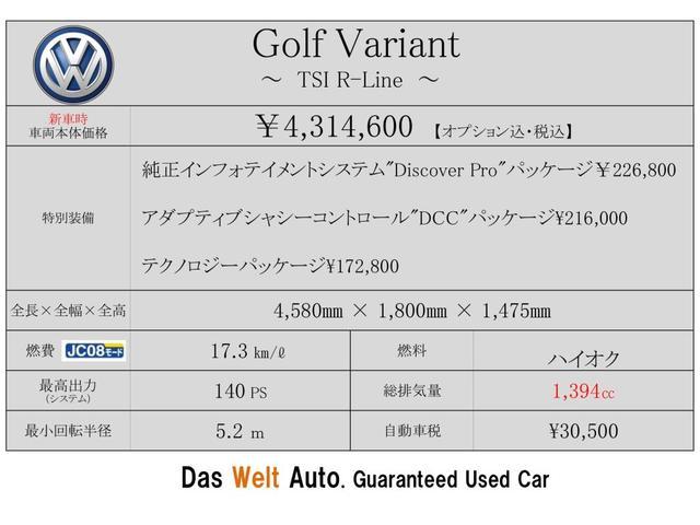 「フォルクスワーゲン」「VW ゴルフヴァリアント」「ステーションワゴン」「静岡県」の中古車2
