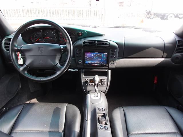 ポルシェ ポルシェ 911カレラ GT3仕様 レザーシート 社外HDDナビ
