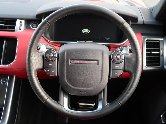 HST 認定 サンルーフ ブラックルーフ 前席ベンチレーション 前席シートヒーター&クーラー フル液晶メーター サテンブラック21インチホイール 赤黒革シート ブラインドスポットモニター(33枚目)