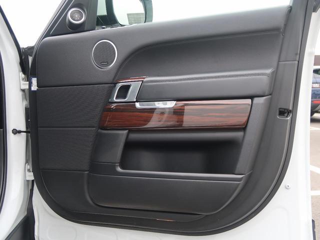 3.0 V6 スーパーチャージド ヴォーグ 認定中古車 禁煙車 アダプティブクルーズ 全席シートヒーター&前席シートクーラー 黒革シート MERIDIANサウンド エアサス 純正20AW スマートキー パワーテールゲート(48枚目)