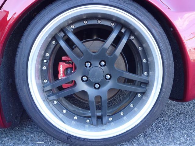 GTA 6MT WORK18AW 車高調 社外マフラー(11枚目)