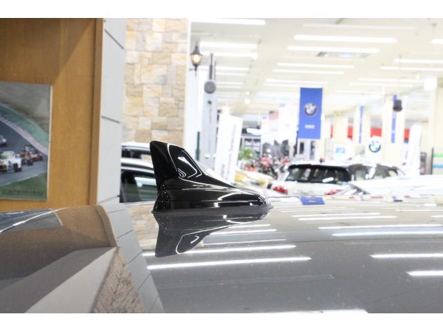ルーフアンテナは小型のシャークフィンアンテナで目立ちにくいです。 小型の為、洗車機にもこのまま入れられます。