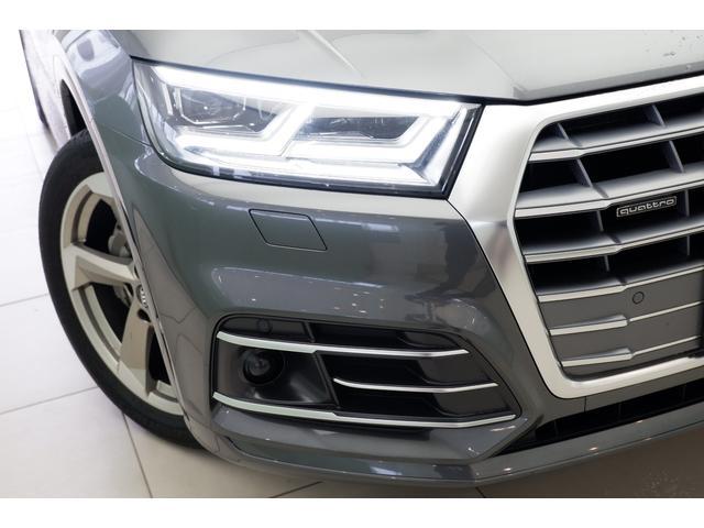 ポジショニングライトです。対向車や前方の車両を直接照らすことを避け、必要に応じて周囲の人や車をピンポイントで照射する「マトリクスLEDヘッドライト」をオプション装備しております。