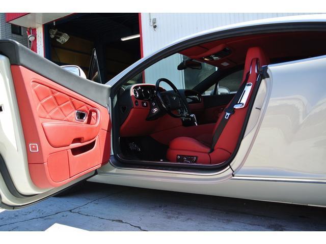 ベントレー ベントレー コンチネンタル GT マリナーPKG 左H コーンズ正規D車 赤革