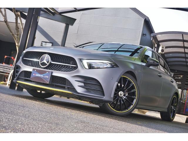 A180 エディション1 100台限定色 レーダーセーフティPKG ヘッドアップディスプレイ MBUX(2枚目)