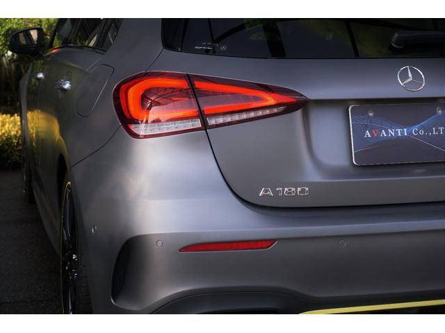 A180 エディション1 100台限定色 レーダーセーフティPKG ヘッドアップディスプレイ MBUX(11枚目)