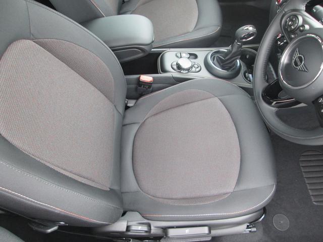 クーパーD クロスオーバー LED シートヒーター ペッパーPKG正規認定中古車(12枚目)