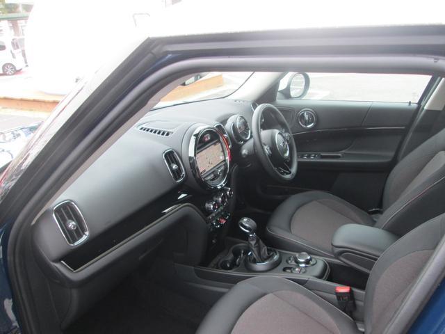クーパーD クロスオーバー LED シートヒーター ペッパーPKG正規認定中古車(14枚目)