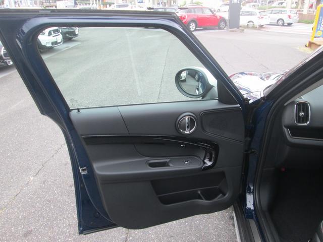 クーパーD クロスオーバー LED シートヒーター ペッパーPKG正規認定中古車(22枚目)