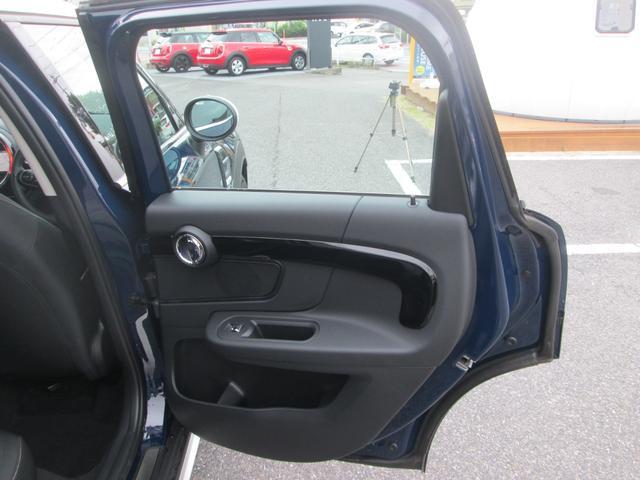 クーパーD クロスオーバー LED シートヒーター ペッパーPKG正規認定中古車(23枚目)