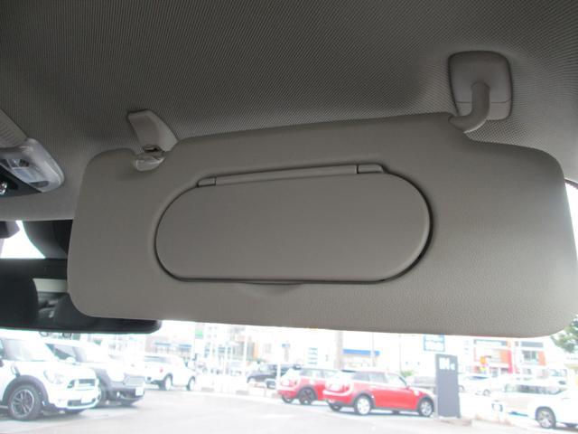 クーパーD クロスオーバー LED シートヒーター ペッパーPKG正規認定中古車(28枚目)