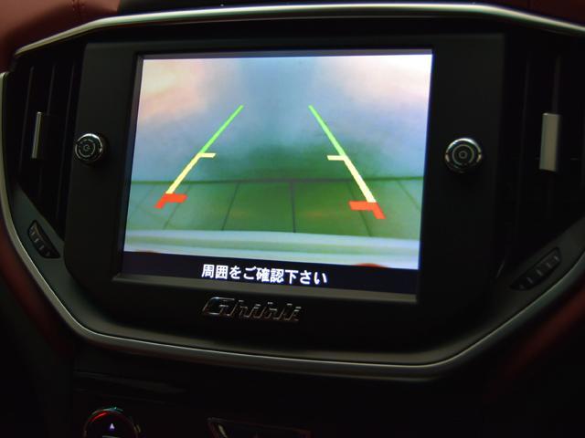 マセラティ マセラティ ギブリ S スポーツパフォーマンスPKG20 ロッソナチュラルレザー