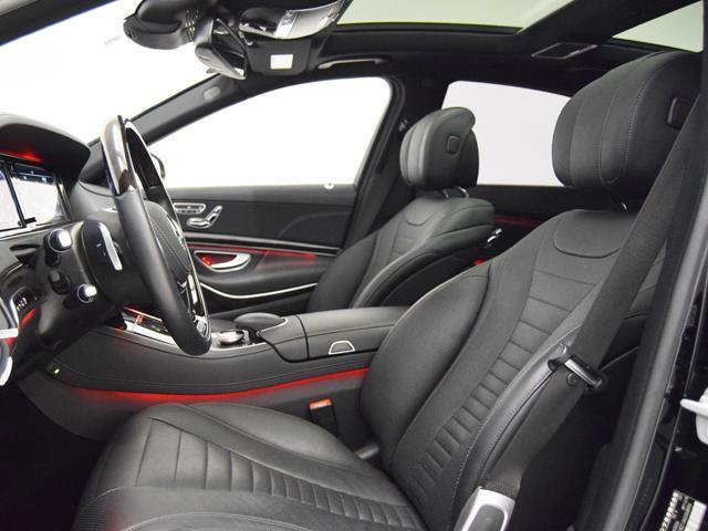 S550ロング AMGスポーツPKG ナッパレザーシート(6枚目)