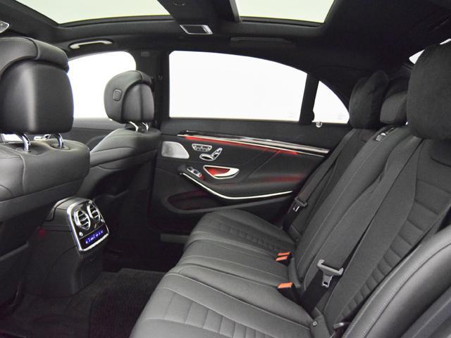 S550ロング AMGスポーツPKG ナッパレザーシート(11枚目)