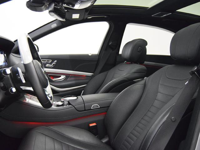 S550ロング AMGライン デジーノアッシュウッドトリム(6枚目)
