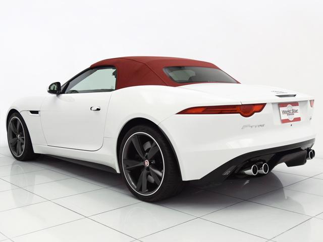 V8 Sコンバーチブル 15yモデル OP108 赤革シート(2枚目)