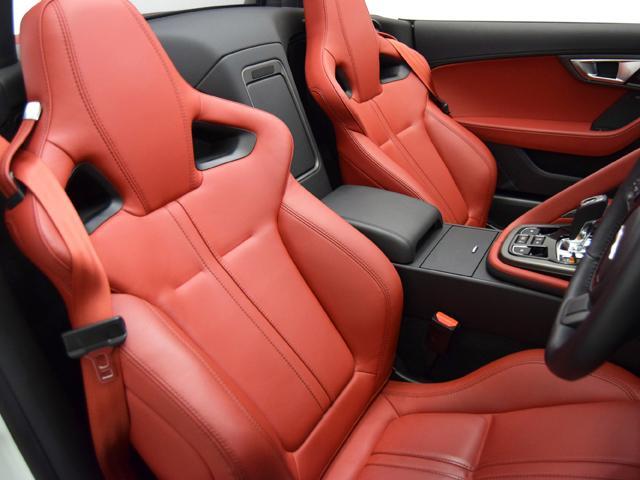 V8 Sコンバーチブル 15yモデル OP108 赤革シート(9枚目)