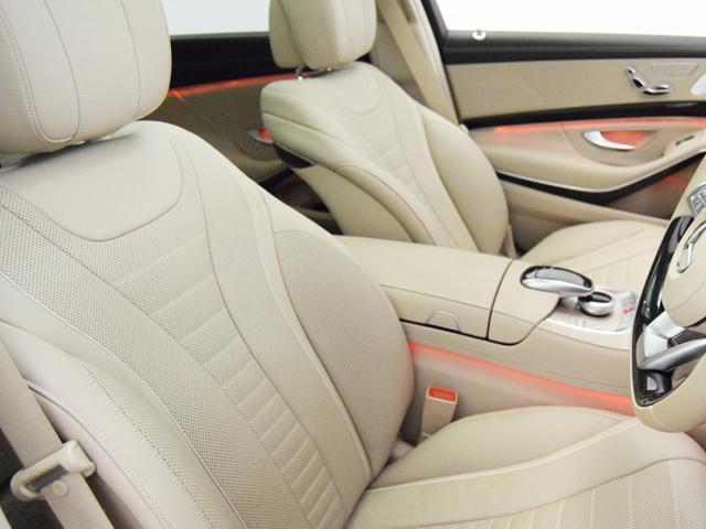 S550ロング AMGライン シルクベージュナッパレザー(7枚目)