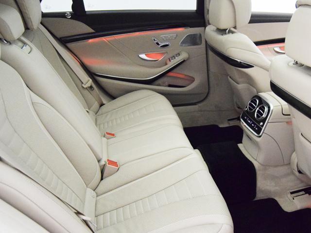 S550ロング AMGライン シルクベージュナッパレザー(12枚目)
