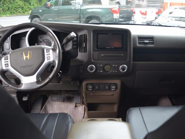 アメリカホンダ リッジライン RTLHDDナビキーレス4WD
