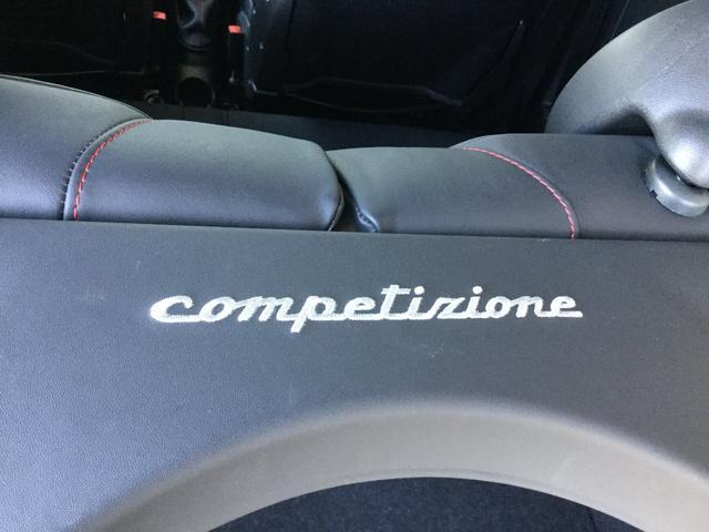 コンペティツィオーネ 右ハンドルオートマ キセノンヘッドライト サベルのシート カーボンシフトパネル ブーストメーター 認定中古車保証 ロードサービス(34枚目)