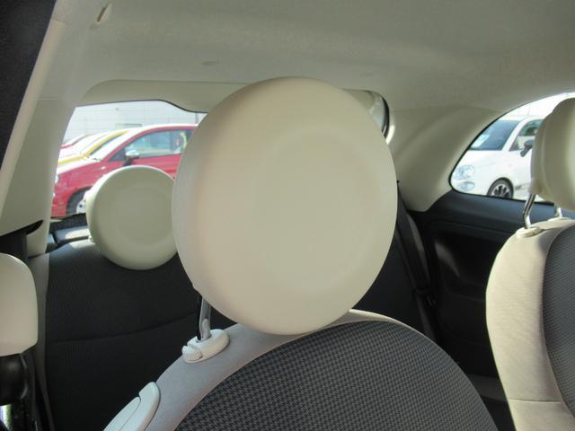 ツインエア ポップ ツインエアエンジン ハロゲンヘッドライト ファブリックシート 認定中古車保証 ロードサービス付(65枚目)