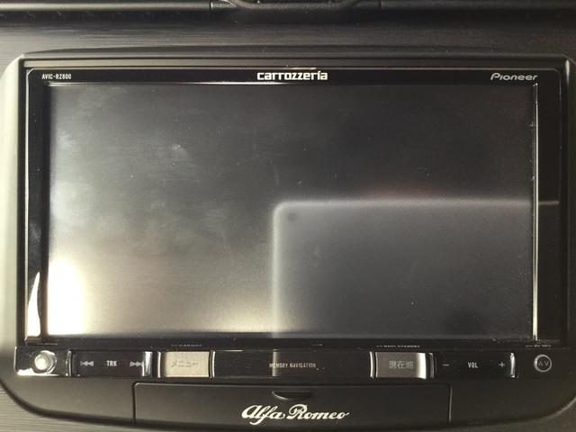 アルファロメオ アルファロメオ ジュリエッタ スーパー 2DINナビ レザーシート 元試乗車 新車保証継承