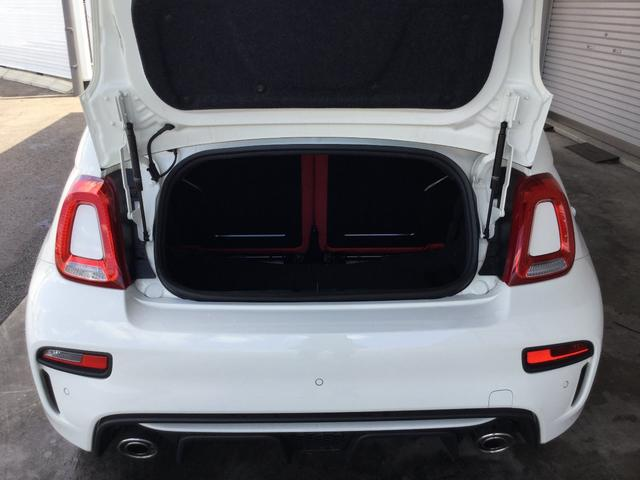アバルト アバルト アバルト595C ツーリズモ 2DINナビ ETC 元試乗車 新車保証継承