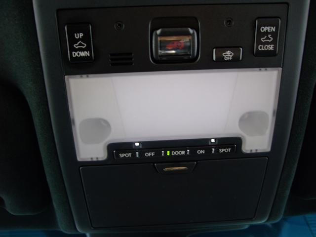 レクサス LS LS600h Fスポーツ 内装色 ブラック&ホワイトグレー