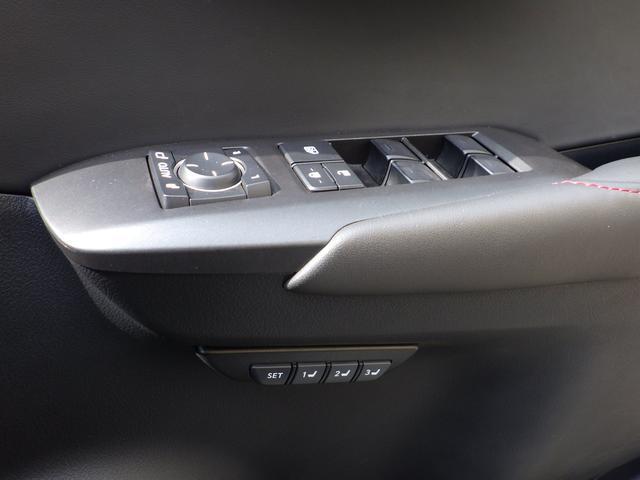 レクサス NX NX200t Fスポーツ 内装色ブラック
