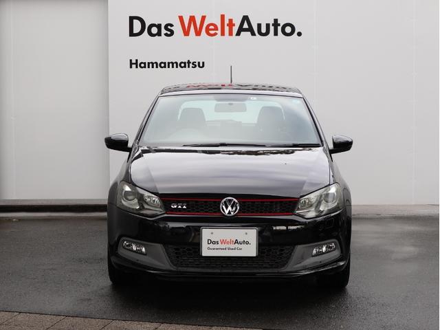 フォルクスワーゲン VW ポロ GTI 1オーナー 禁煙車 純正ナビ バックカメラ