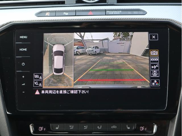バックカメラだけでなく、フロント左右サイドリヤ4台のカメラで合成された画像を表示するアラウンドビューカメラは狭い路地での確認などに便利です