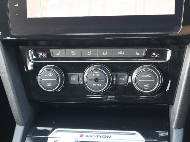 運転席助手席後部座席でそれぞれ違う温度設定が出来るフレッシュエアフィルター付3ゾーンフルオートエアコン。前後座席ともシートヒーターが付いています♪