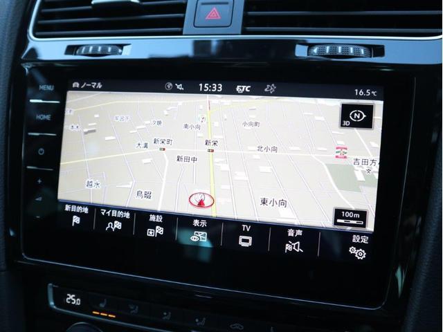 ディスカバーPRO大画面9.2インチタッチパネルの高性能ナビには、フルセグTV、CD、DVD、SDカード、Bluetooth、Volkswagen Car−Netの機能を搭載しています。