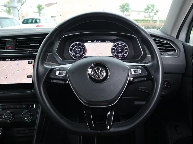 TFT12.3インチ大型ディスプレイによるフルデジタルメータークラスター。ナビゲーションのマップをよりワイドに映し出すこともできます。VWが誇る先進技術がドライビングをサポートします。