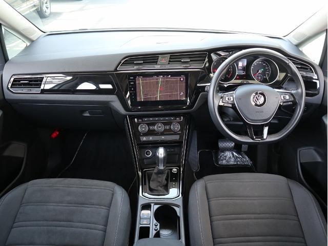 TDI ハイライン 認定中古車 1オーナー 禁煙車 純正ナビ Bluetooth バックカメラ ETC USB アダプティブクルーズコントロール レーンアシスト 3列シート シートヒーター(14枚目)