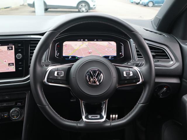 TDI Rライン 認定中古車 1オーナー 禁煙車 デモカー   純正ナビ Bluetooth バックカメラ ETC USB アダプティブクルーズコントロール レーンアシスト クリアランスソナー ルーフレール(15枚目)
