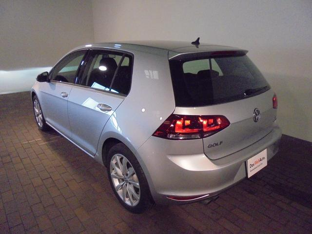 フォルクスワーゲン VW ゴルフ TSIハイライン 認定中古車ナビ付き 前車追従機能