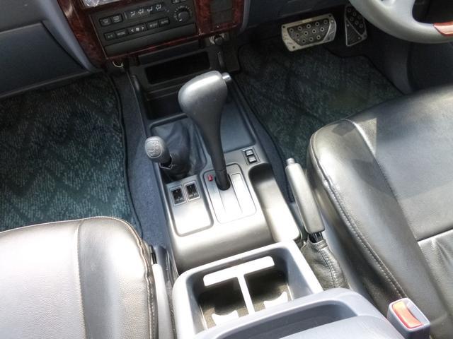 TXリミテッド 4WD ETC レザーシートカバー(14枚目)