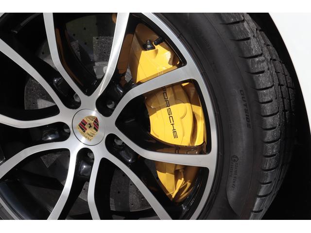 ターボ スポーツクロノパッケージ パノラマSR Exclusive Design 21AW LEDマトリクスヘッド PCCB 18WAY調整式トリュフブラウンレザーシート カーボンインテリア 新車保証(34枚目)