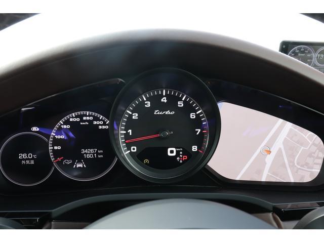 ターボ スポーツクロノパッケージ パノラマSR Exclusive Design 21AW LEDマトリクスヘッド PCCB 18WAY調整式トリュフブラウンレザーシート カーボンインテリア 新車保証(66枚目)